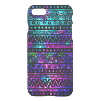 Nebula Aztec Teal Blue Pink Uncommon iPhone 7 Case