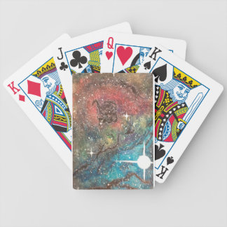 Nebula Bicycle Playing Cards