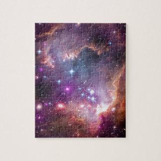 Nebula bright space stars galaxy hipster geek cool jigsaw puzzle