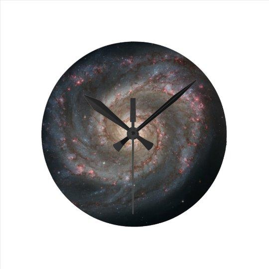 Nebula bright stars galaxy hipster geek cool space wall clocks