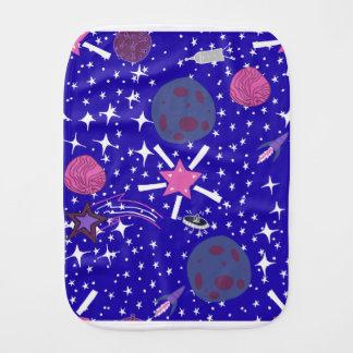 nebula burp cloth