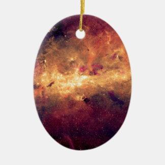 Nebula Ceramic Oval Ornament