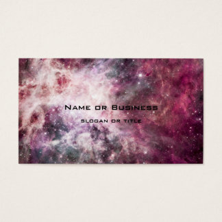Nebula Formation in Outer Space Business Card