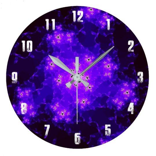 Nebula Fractal Clock