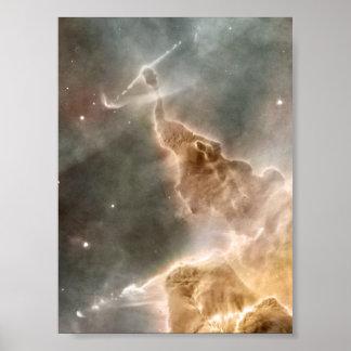 Nebula from Hubble Poster