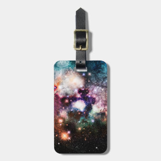 Nebula Galaxy Stars Luggage Tag