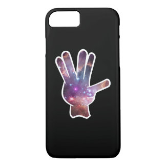 Nebula Hand Print iPhone 7 Case