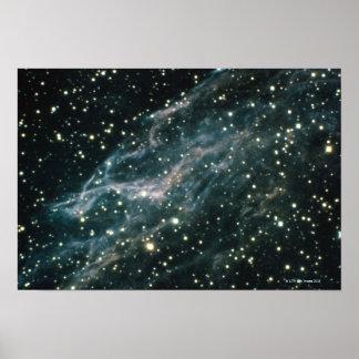 Nebula in Cygnus Poster