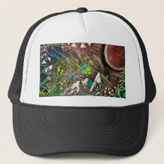 """Nebula"" -MikeHooper Custom Trucker Hat-$22.45 Trucker Hat"