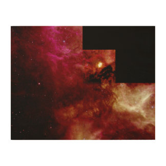 Nebula N159 Wood Canvas