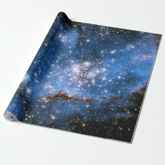 Nebula NGC 346 Infant Stars - Hubble Space Photo Wrapping Paper