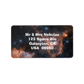 Nebula Outer Space Astronomy Labels