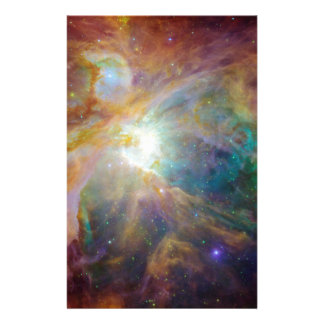 Nebula Personalized Stationery