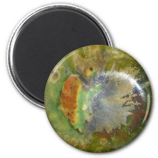 Nebula Pottery 2 Inch Round Magnet