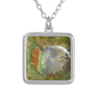 Nebula Pottery Silver Plated Necklace