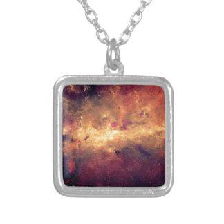 Nebula Silver Plated Necklace