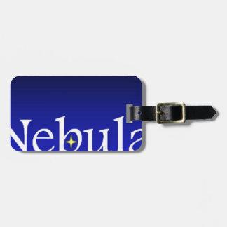 Nebula Society Luggage Tag