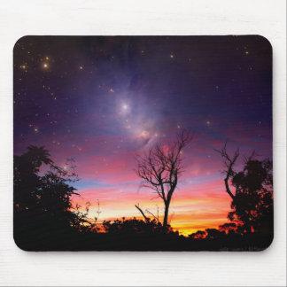 Nebula space galaxy Mousepad