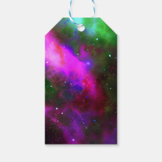 Nebula Space Photo Gift Tags
