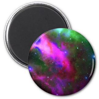 Nebula Space Photo Magnet