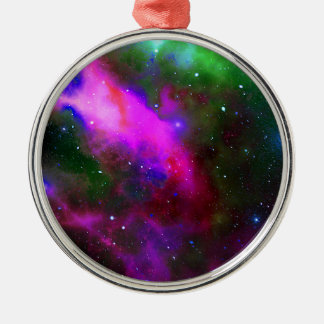 Nebula Space Photo Metal Ornament