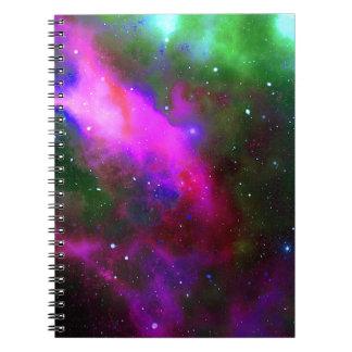 Nebula Space Photo Notebook