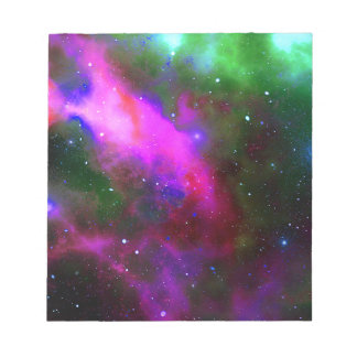 Nebula Space Photo Notepad