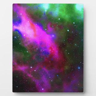 Nebula Space Photo Plaque