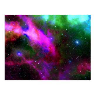 Nebula Space Photo Postcard