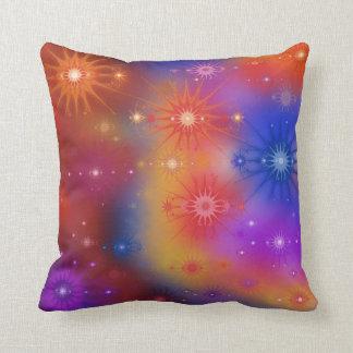 Nebula Star Clusters Throw Pillow