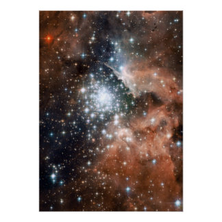 Nebula stars galaxy hipster geek cool nature space print