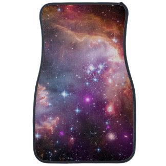 Nebula stars galaxy hipster geek cool space purple car mat