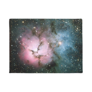 Nebula stars galaxy hipster geek cool space scienc doormat