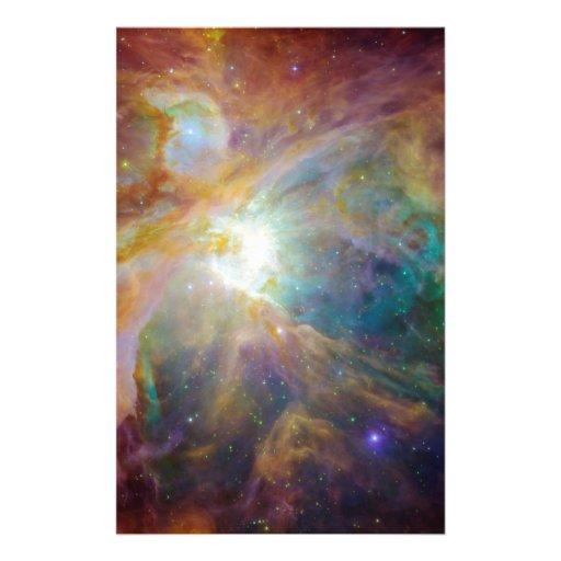 Nebula Personalized Stationery