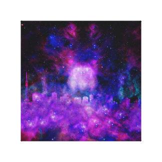 Nebulae Sky Canvas Print