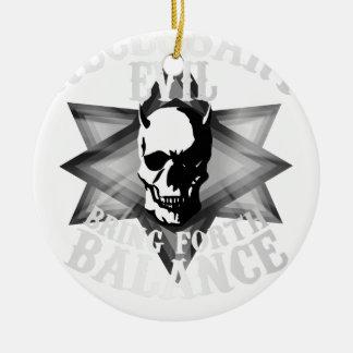 Necessary Evil Ceramic Ornament