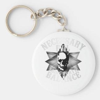 Necessary Evil Keychain