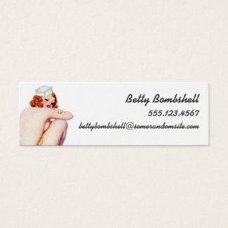 Necessary Evil Mini Business Card