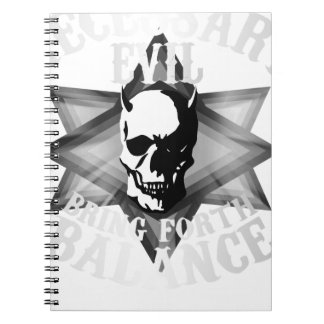 Necessary Evil Notebook