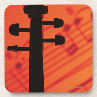 Neck of Violin Coasters