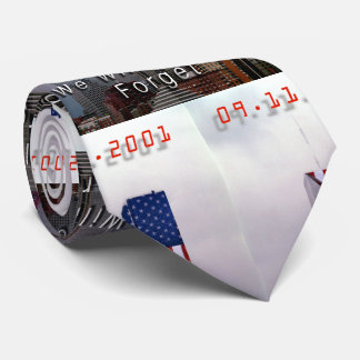 Neck Tie 9-11 We Will Never Forget