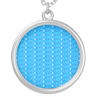 Necklace Baby Blue Glitter