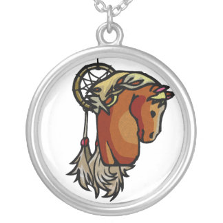 Necklace - Horse Dream Catcher Charm