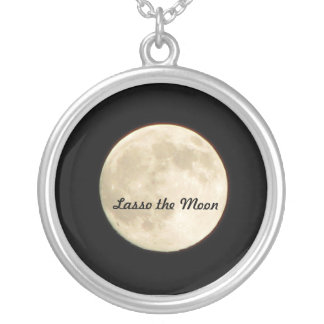 Necklace- Lasso the Moon Silver Plated Necklace