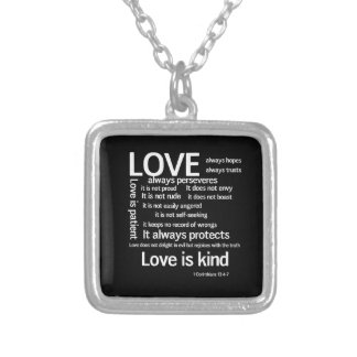 Necklace - Love is Patient Random WB