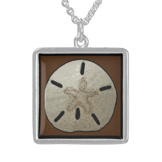 Necklace:  Sand Dollar, Peace, Love Sterling Silver Necklace