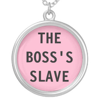 Necklace The Boss's Slave