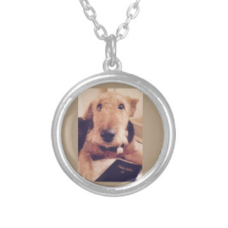 Necklace with An Airedale dog