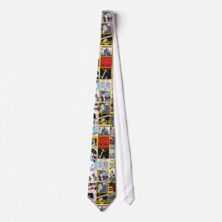 Necktie Dangerhouse Sleeves Yellow Customizable