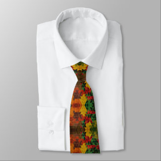 Necktie of colors and Rhombuses